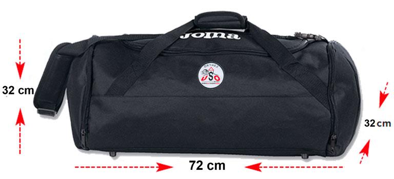 Sac Sport noir large – Joma